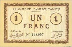 1 Franc FRANCE régionalisme et divers Amiens 1915 JP.007.16 NEUF