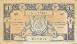 1 Franc FRANCE régionalisme et divers AURILLAC 1915 JP.016.04 SUP