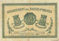 1 Franc FRANCE régionalisme et divers BAYONNE 1917 JP.021.45 TTB