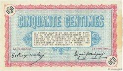 50 Centimes FRANCE régionalisme et divers BELFORT 1917 JP.023.26 SPL