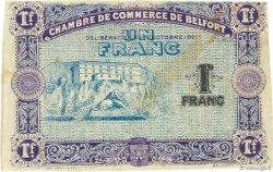1 Franc FRANCE régionalisme et divers BELFORT 1921 JP.023.61 TB