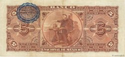 5 Pesos MEXIQUE  1910 PS.0257c TTB+