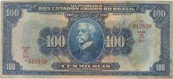 100 Mil Reis BRÉSIL  1925 P.070a TB