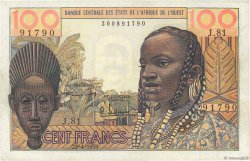 100 Francs type 1956 modifié 1960 AFRIQUE OCCIDENTALE FRANÇAISE (1895-1958)  1959 P.002a SUP