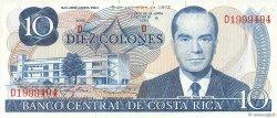 10 Colones COSTA RICA  1972 P.237a NEUF