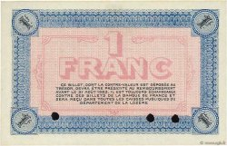 1 Franc FRANCE régionalisme et divers MENDE 1918 JP.081.08 NEUF