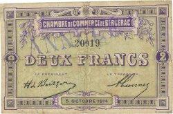 2 Francs FRANCE régionalisme et divers Bergerac 1914 JP.024.07 TB