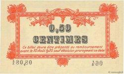 50 Centimes FRANCE régionalisme et divers Montpellier 1915 JP.085.06 NEUF