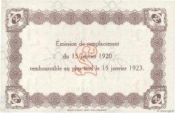 2 Francs FRANCE régionalisme et divers Le Havre 1920 JP.068.24 SPL