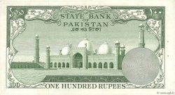 100 Rupees PAKISTAN  1957 P.18c SUP