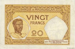 20 Francs MADAGASCAR  1937 P.37 TTB+