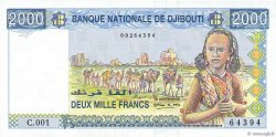 2000 Francs DJIBOUTI  1997 P.40 NEUF