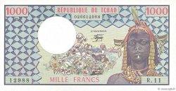 1000 Francs type 1973 modifié TCHAD  1978 P.03c NEUF