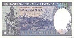 100 Francs RWANDA  1982 P.18 NEUF