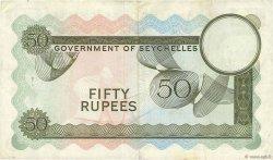 50 Rupees SEYCHELLES  1970 P.17e TTB