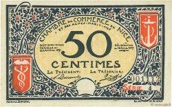 50 Centimes FRANCE régionalisme et divers Nice 1917 JP.091.04 SPL à NEUF