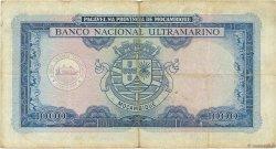 1000 Escudos MOZAMBIQUE  1953 P.105a TB
