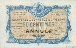 50 Centimes FRANCE régionalisme et divers Rodez et Millau 1917 JP.108.12 NEUF