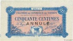 50 Centimes FRANCE régionalisme et divers Tarbes 1917 JP.120.13 NEUF