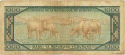 1000 Francs BURUNDI  1979 P.31a pr.TB