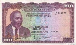 100 Shillings KENYA  1971 P.10b TTB+