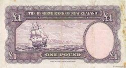 1 Pound NOUVELLE-ZÉLANDE  1953 P.159a TTB