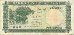 1 Leone SIERRA LEONE  1964 P.01a TTB