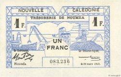 1 Franc NOUVELLE CALÉDONIE  1943 P.55b SPL