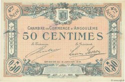 50 Centimes FRANCE régionalisme et divers ANGOULÊME 1915 JP.009.25 SPL à NEUF