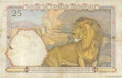 25 Francs type 1933 AFRIQUE OCCIDENTALE FRANÇAISE (1895-1958)  1938 P.22 TB