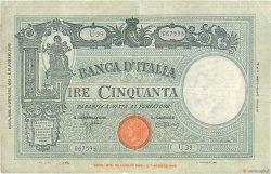 50 Lire ITALIE  1943 P.065 TB à TTB