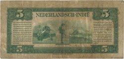 5 Gulden INDES NEERLANDAISES  1943 P.113a TB