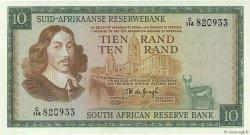 10 Rand AFRIQUE DU SUD  1967 P.114b NEUF