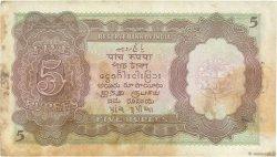 5 Rupees BIRMANIE  1945 P.26b TB