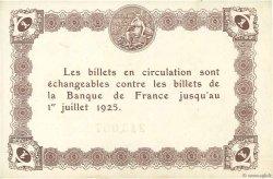 1 Franc FRANCE régionalisme et divers ÉPINAL 1921 JP.056.14 SPL
