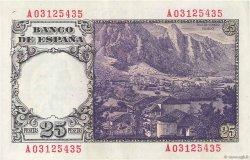 25 Pesetas ESPAGNE  1946 P.130a SUP+