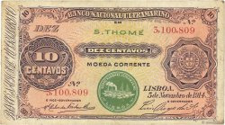 10 Centavos SAINT THOMAS et PRINCE  1914 P.013 TTB