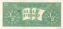 1/2 Peso PHILIPPINES  1949 P.132a SPL
