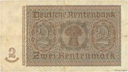 2 Rentenmark ALLEMAGNE  1937 P.174a TB