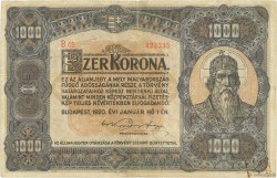 1000 Korona HONGRIE  1920 P.066a TTB