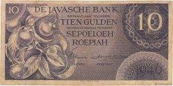 10 Gulden INDES NEERLANDAISES  1946 P.090 TB