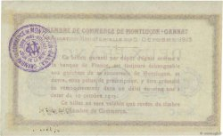 2 Francs FRANCE régionalisme et divers Montluçon, Gannat 1915 JP.084.18 SUP