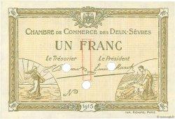 1 Franc FRANCE régionalisme et divers Niort 1915 JP.093.05 NEUF