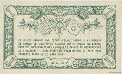 1 Franc FRANCE régionalisme et divers RODEZ ET MILLAU 1915 JP.108.07 SPL
