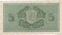 5 Markkaa FINLANDE  1922 P.049 pr.NEUF