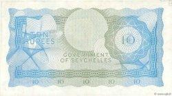 10 Rupees SEYCHELLES  1974 P.15b TTB+