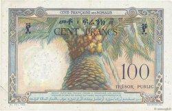 100 Francs DJIBOUTI  1952 P.26 TB