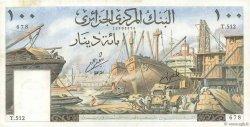 100 Dinars ALGÉRIE  1964 P.125a SUP