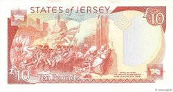 10 Pounds JERSEY  1993 P.22a pr.NEUF
