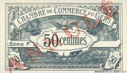 50 Centimes FRANCE régionalisme et divers AUCH 1914 JP.015.06 NEUF